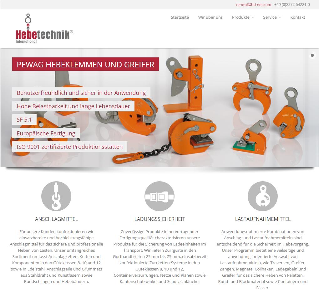 Hebetechnik international ihr profi für hebezeuge arbeitssicherheit