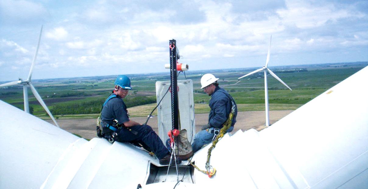 Ed windkraft einsatz