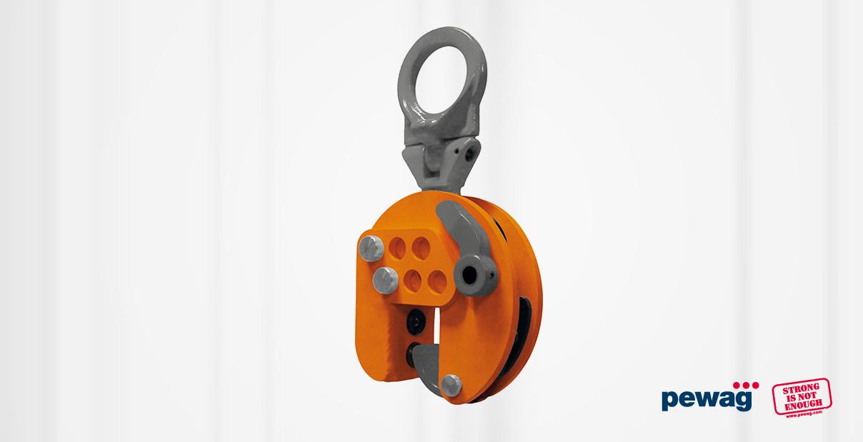 vertikal Hebeklemme VEUW-A von pewag winner kaufen bei Hebetechnik International